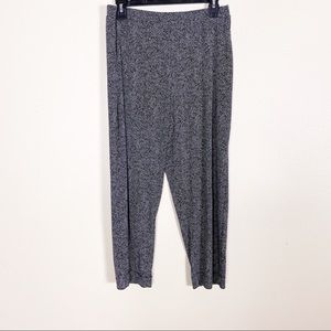 Clara Sun Woo Black & White Striped Soft Pants